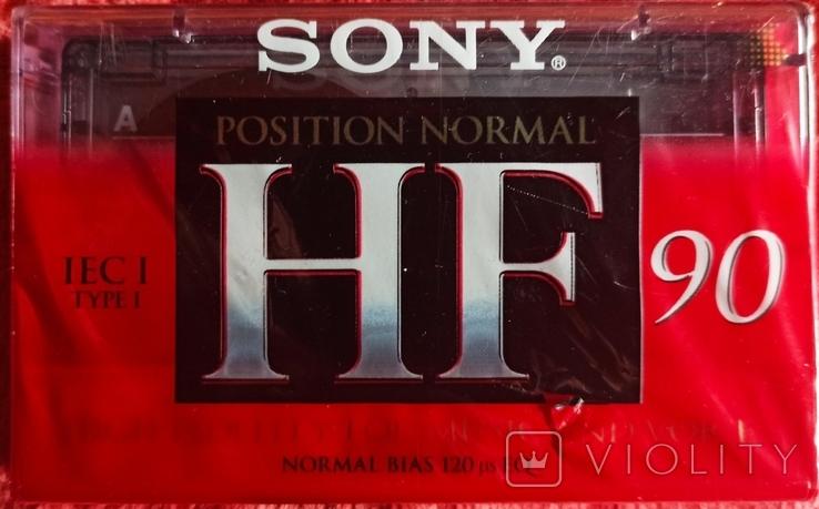 Аудиокассета SONY новая., фото №2