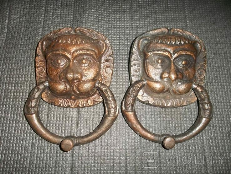 Дверные маскароны.Львы.СССР., фото №2