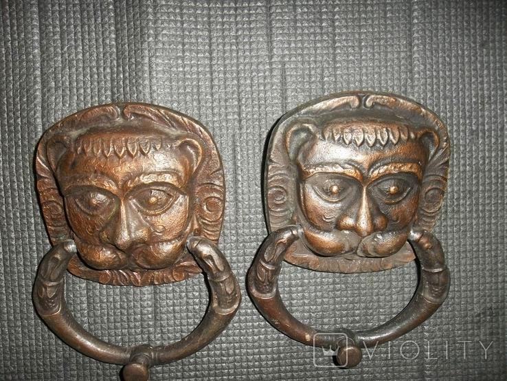 Дверные маскароны.Львы.СССР., фото №3