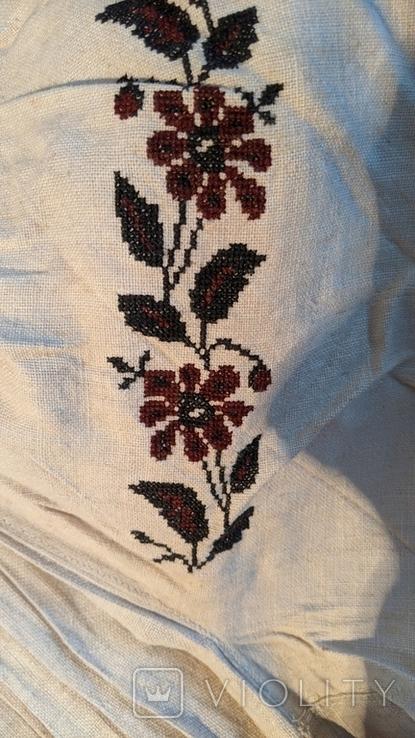 Старинная украинская вышиванка, 6 штук одним лотом, фото №4