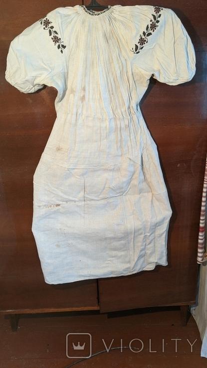 Старинная украинская вышиванка, 6 штук одним лотом, фото №5