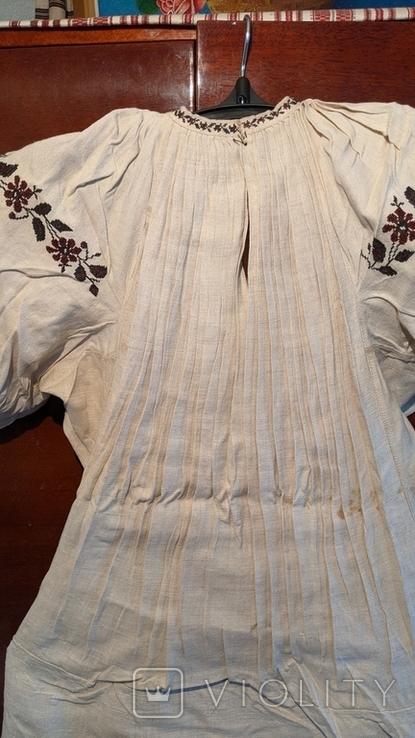 Старинная украинская вышиванка, 6 штук одним лотом, фото №6