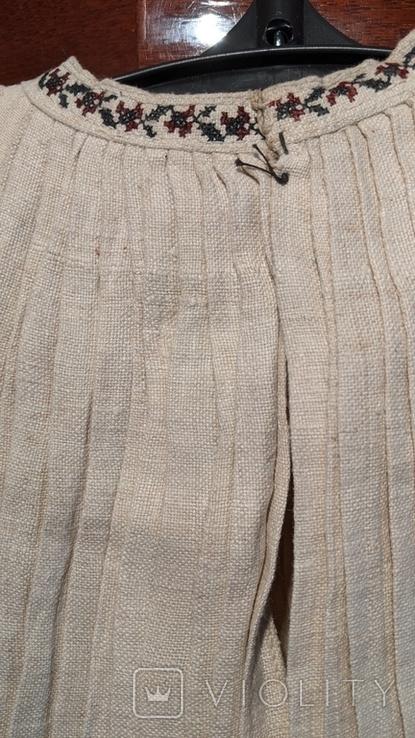 Старинная украинская вышиванка, 6 штук одним лотом, фото №7