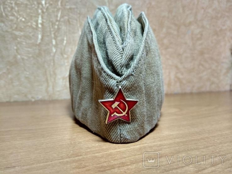 Пилотка солдата армии СССР, фото №2
