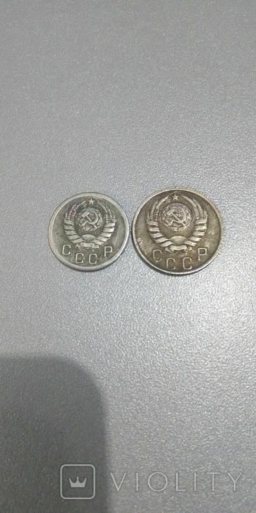 10-15 копеек СССР 1942 год копии редких монет, фото №3