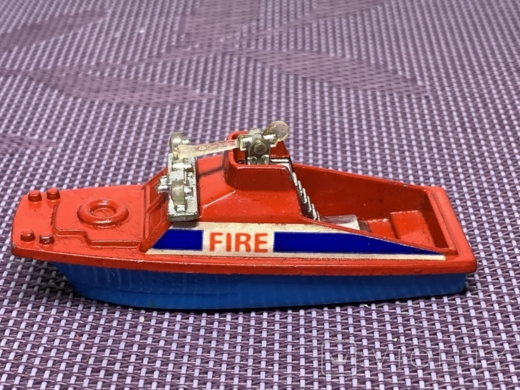 Corgi 1/64 Fire Launch Made in Gt Britain, фото №3