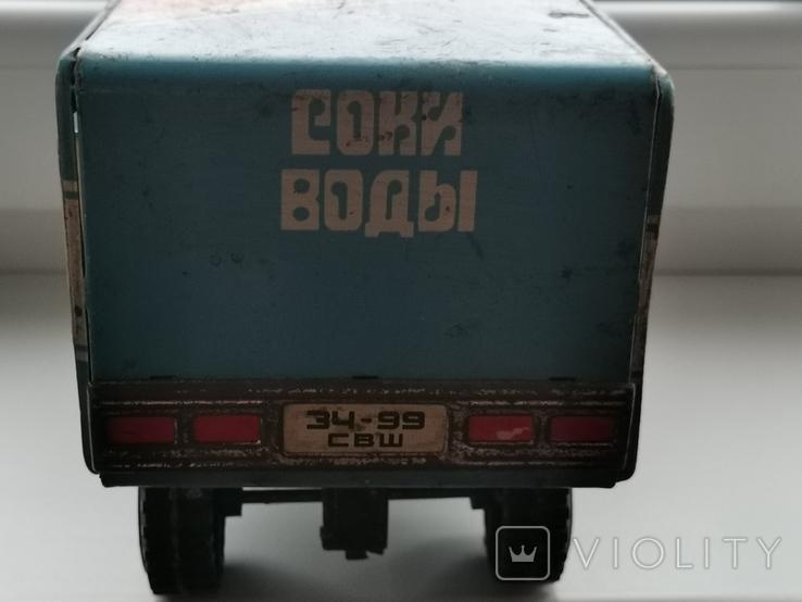 Машина Урал соки воды, фото №4