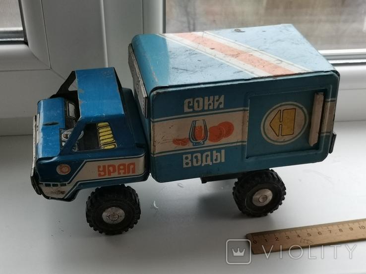 Машина Урал соки воды, фото №2