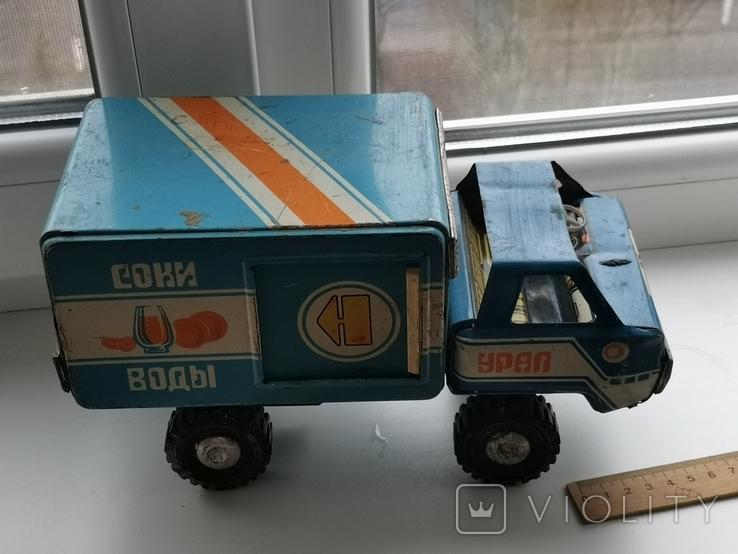 Машина Урал соки воды, фото №12