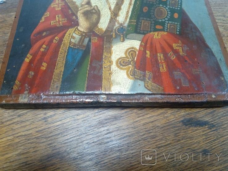 Икона Николай Чудотворец, фото №5