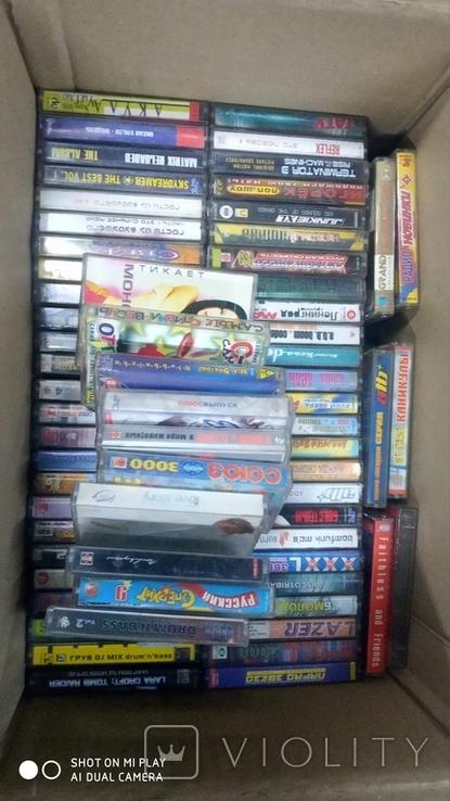 Аудиокассеты 90-2000 годов 180 штук, фото №4