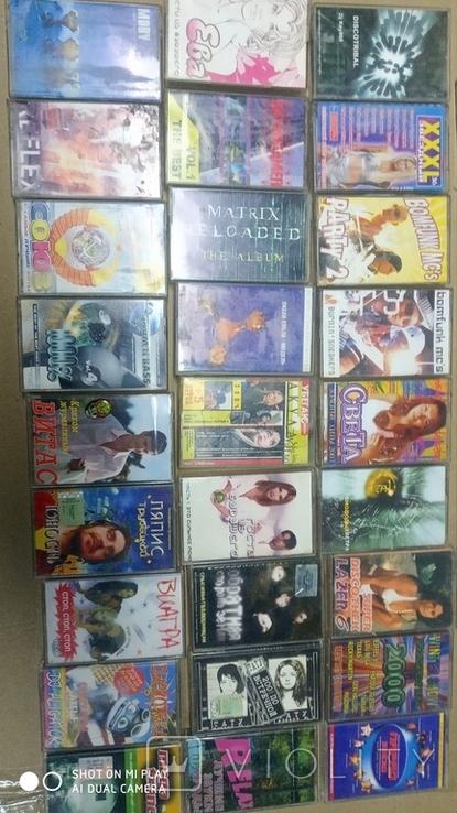 Аудиокассеты 90-2000 годов 180 штук, фото №6