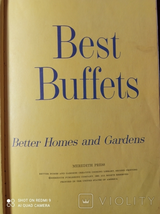 BEST BUFFETS:110 wonderful recipes for entertaining buffet style., фото №3