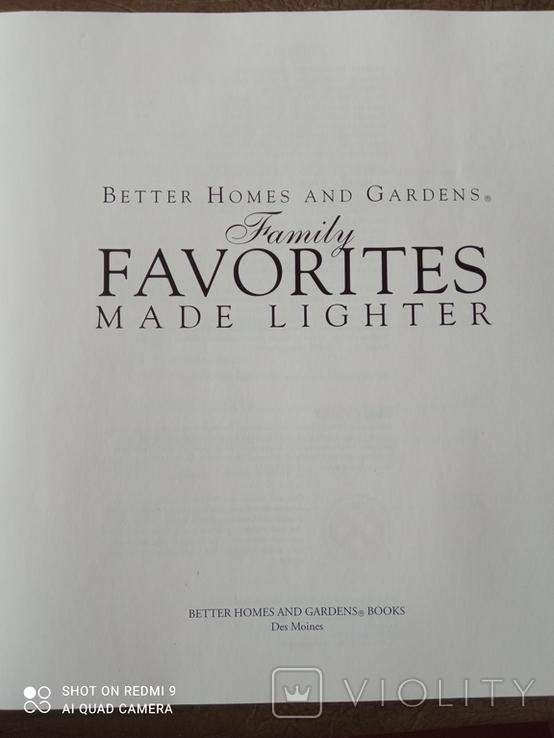 Famili FAVORITES mabe lighter.( Кулінарна книга)., фото №3