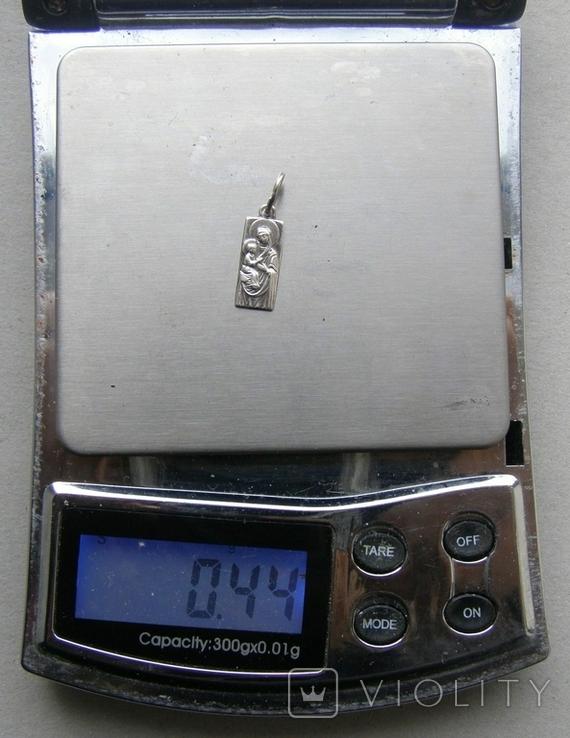 Кулон. Серебро 925 пр. Вес - 0,44 г., фото №2
