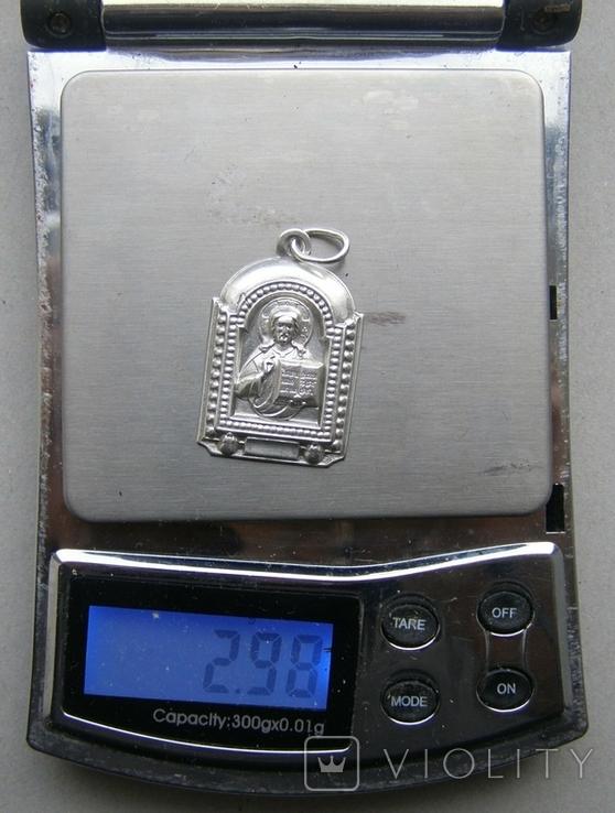 Кулон. Серебро. Вес - 2,98 г., фото №2