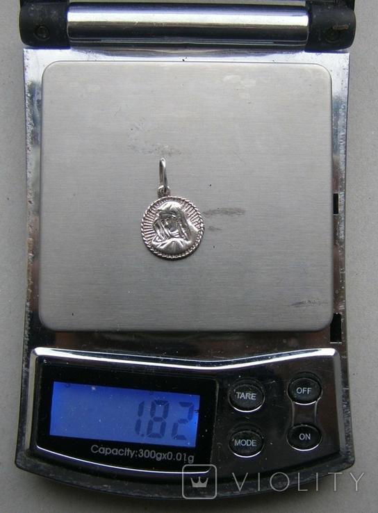 Кулон. Серебро 925 пр. Вес - 1,82 г., фото №2