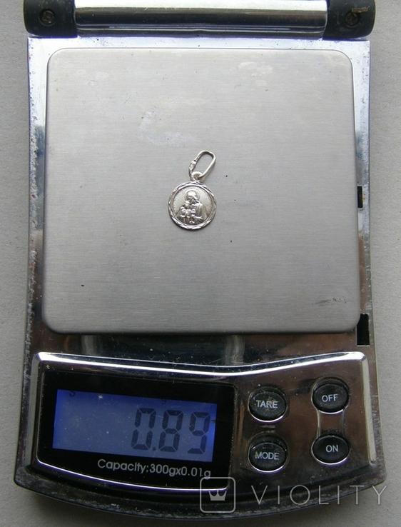 Кулон. Серебро 925 пр. Вес - 0,89 г., фото №2