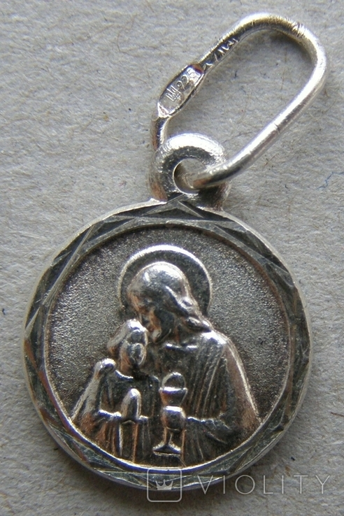 Кулон. Серебро 925 пр. Вес - 0,89 г., фото №3