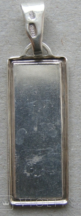 Кулон. Серебро 925 пр. Вес - 2,28 г., фото №4