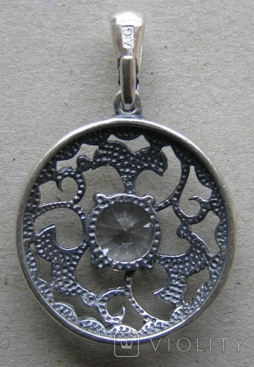 Кулон. Серебро 925 пр. Вес - 3,02 г., фото №4
