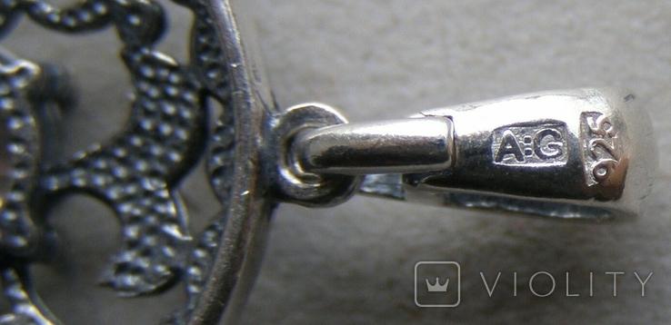 Кулон. Серебро 925 пр. Вес - 3,02 г., фото №5
