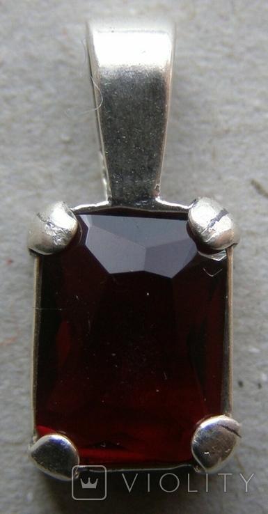 Кулон. Серебро. Вес - 0,92 г., фото №3