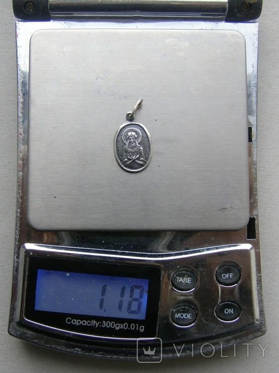 Кулон. Серебро 925 пр. Вес - 1,18 г., фото №2