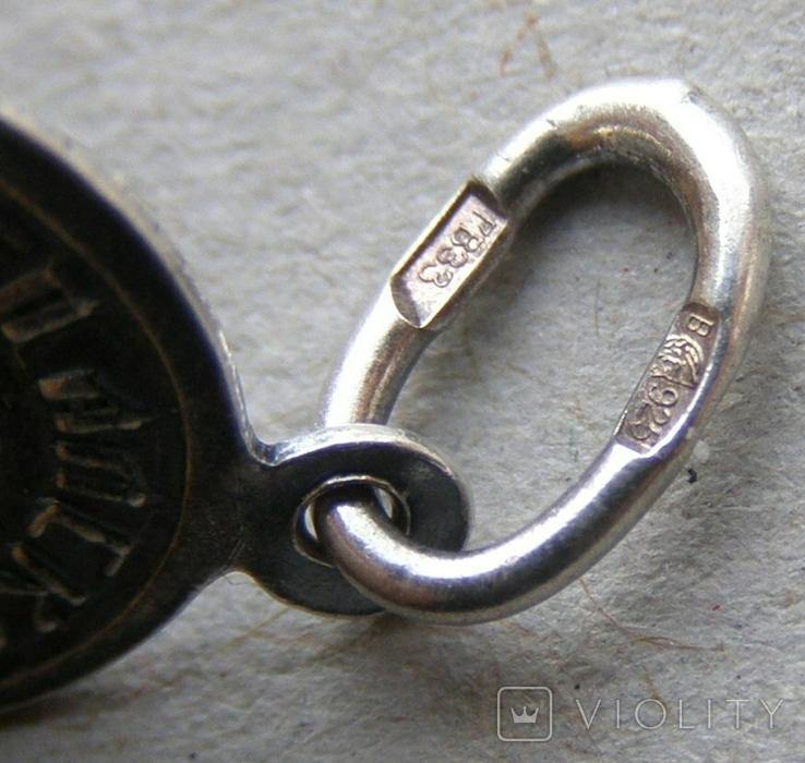 Кулон. Серебро 925 пр. Вес - 1,18 г., фото №5