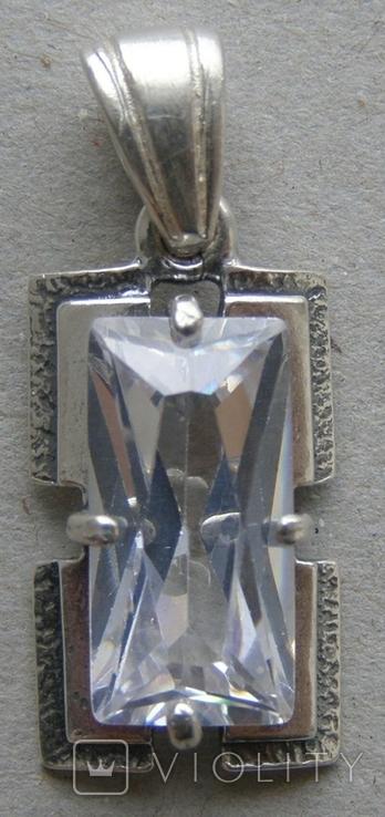 Кулон. Серебро. Вес - 2,97 г., фото №3