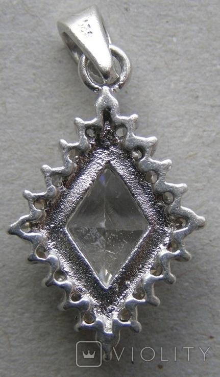 Кулон. Серебро 925 пр. Вес - 4,53 г., фото №4