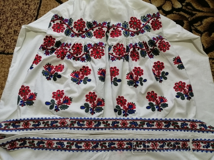 Сорочка вишита тамбуром №3, фото №4