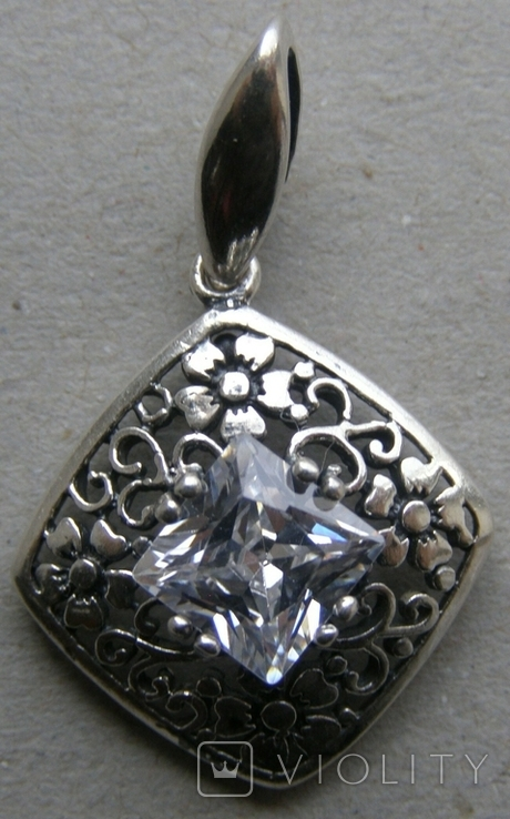 Кулон. Серебро 925 пр. Вес - 2,37 г., фото №3