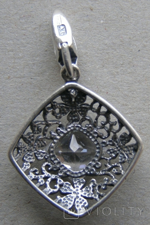 Кулон. Серебро 925 пр. Вес - 2,37 г., фото №4