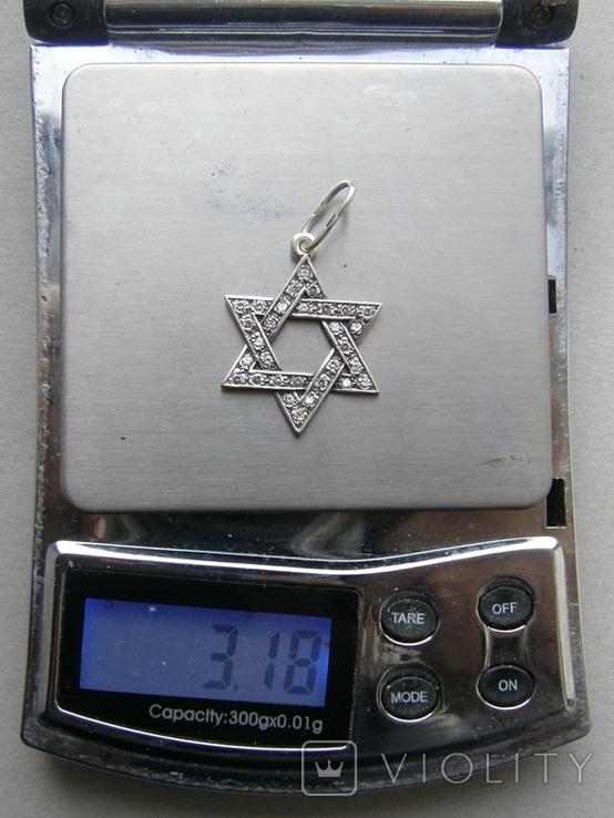 Кулон. Серебро 925 пр. Вес - 3,18 г., фото №2