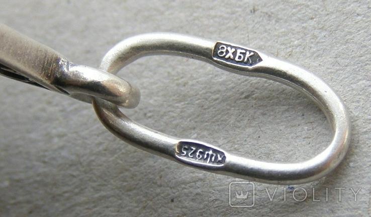 Кулон. Серебро 925 пр. Вес - 3,18 г., фото №5