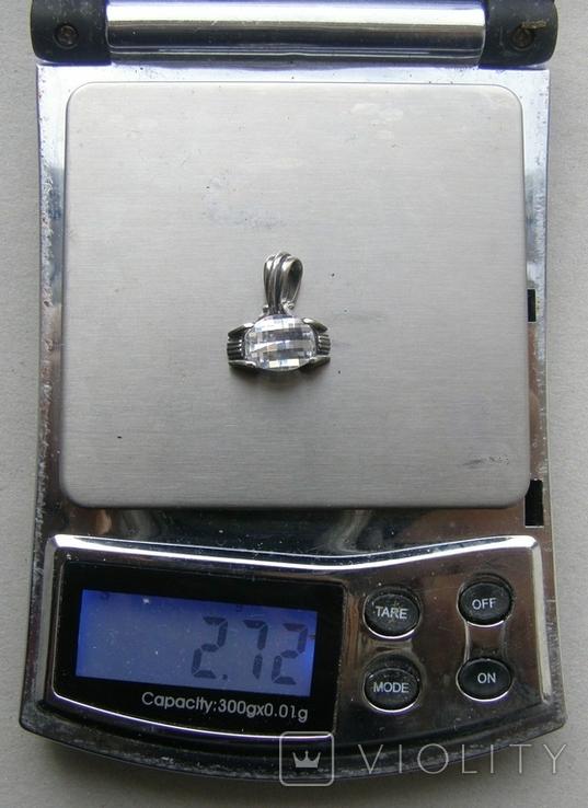 Кулон. Серебро 925 пр. Вес - 2,72 г., фото №2