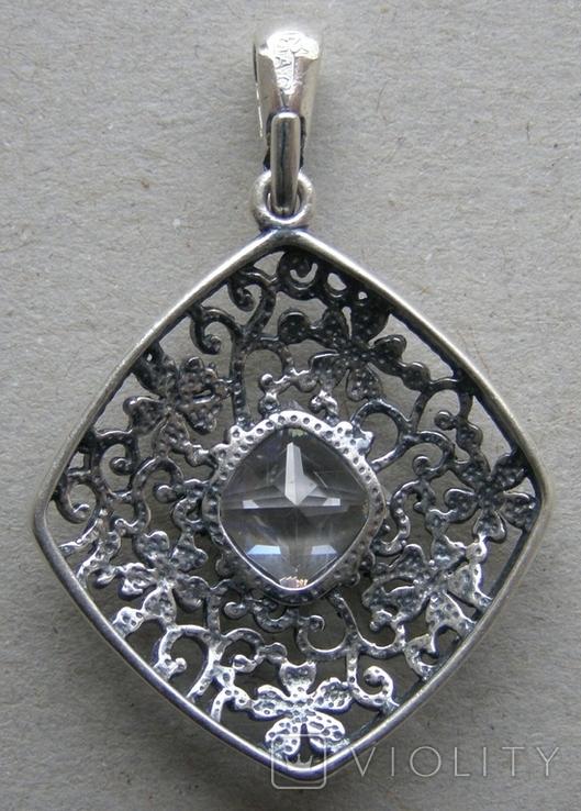 Кулон. Серебро 925 пр. Вес - 3,47 г., фото №4
