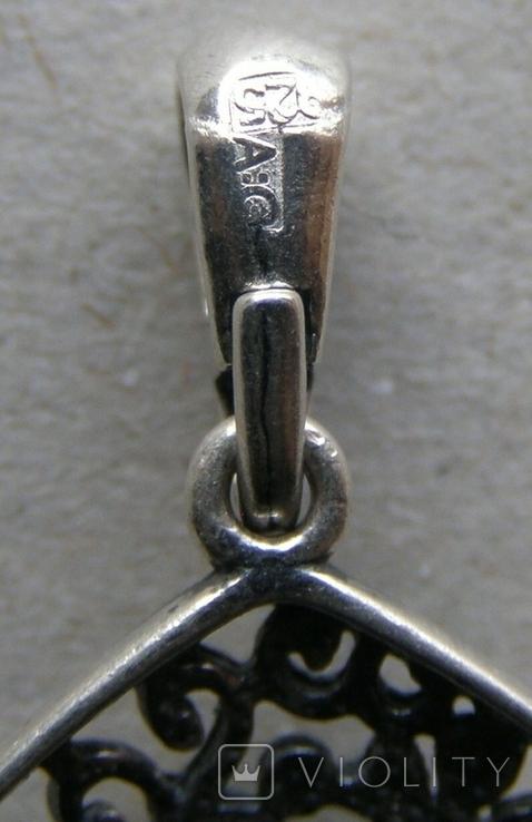 Кулон. Серебро 925 пр. Вес - 3,47 г., фото №5