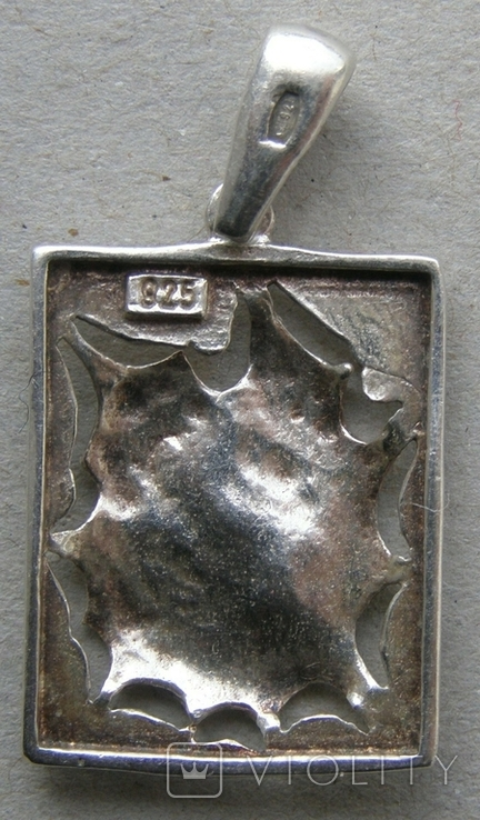 Кулон. Серебро 925 пр. Вес - 3,04 г., фото №4