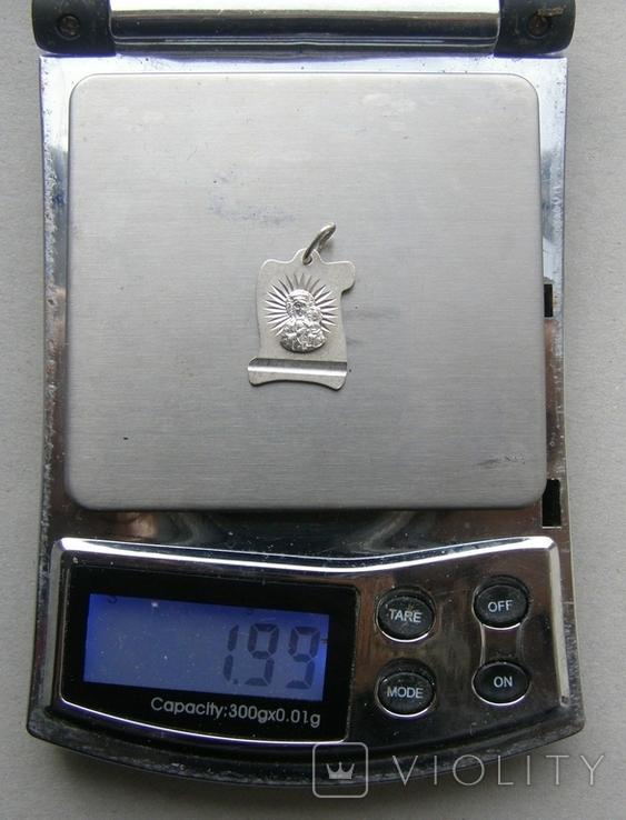 Кулон. Серебро 925 пр. Вес - 1,99 г., фото №2
