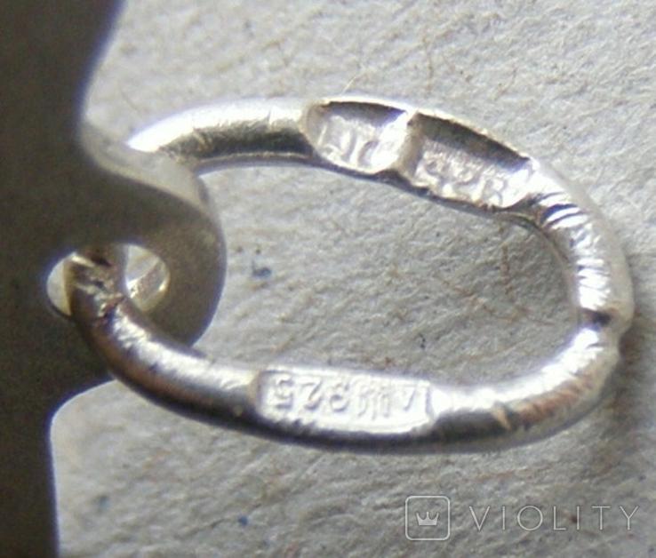 Кулон. Серебро 925 пр. Вес - 1,99 г., фото №5