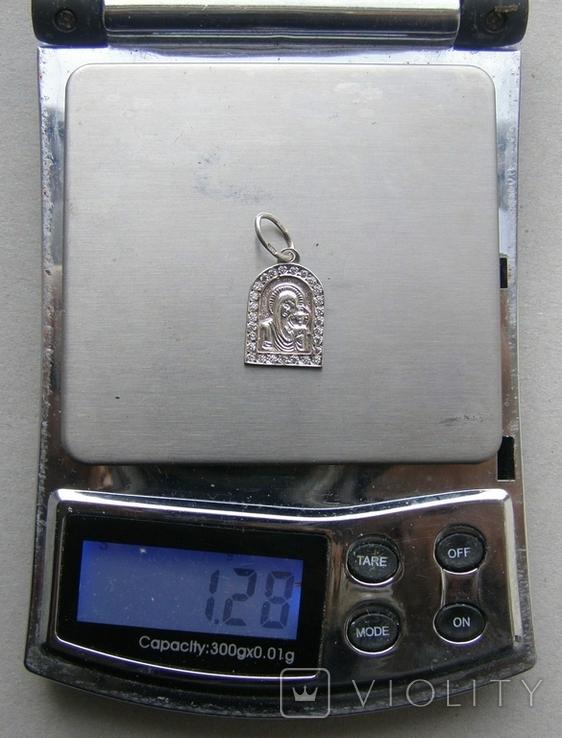 Кулон. Серебро 925 пр. Вес - 1,28 г., фото №2