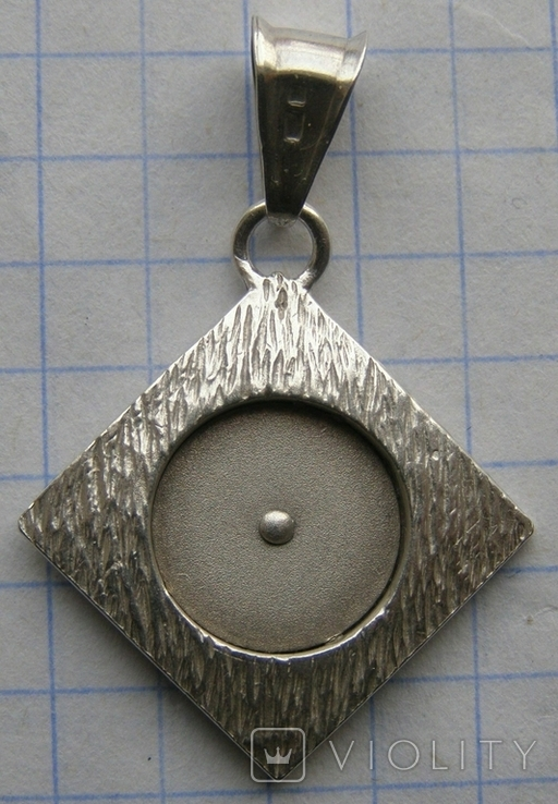 Кулон. Серебро. Вес - 3,07 г., фото №5