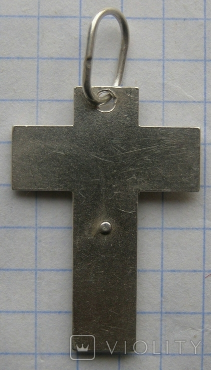 Крестик. Серебро. Вес - 4,38 г., фото №4