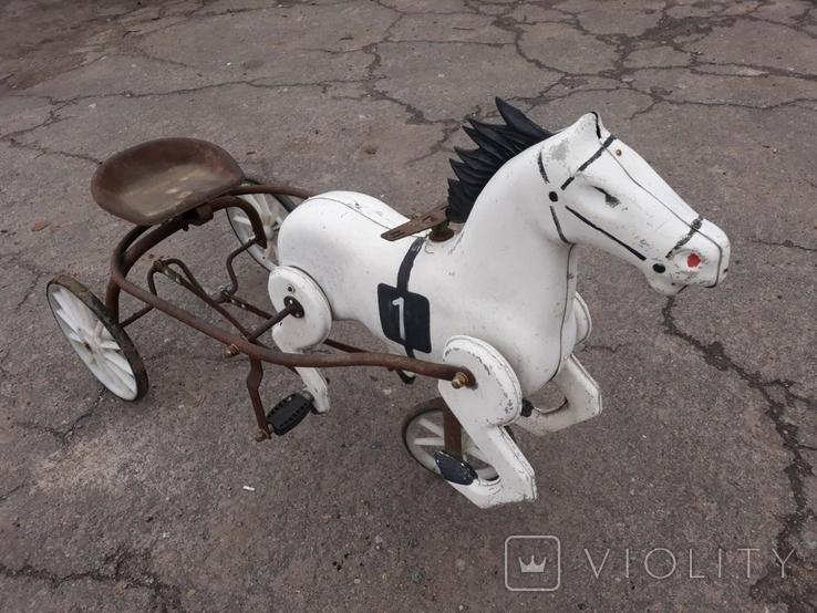 Конь педальный, фото №3