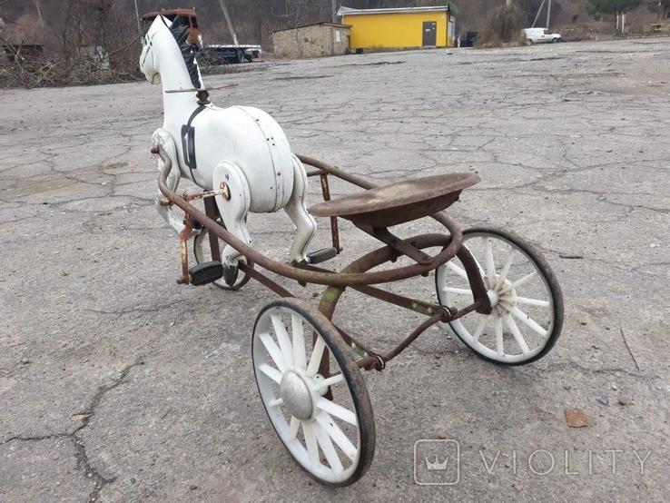 Конь педальный, фото №5