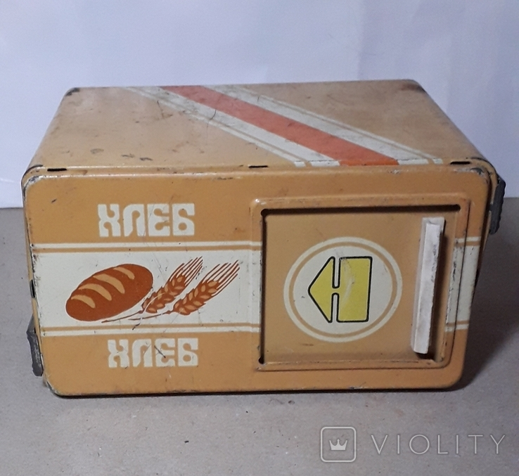 Бутка к машины ХЛЕБ из СССР размер 16Х11,3Х9 см., фото №2