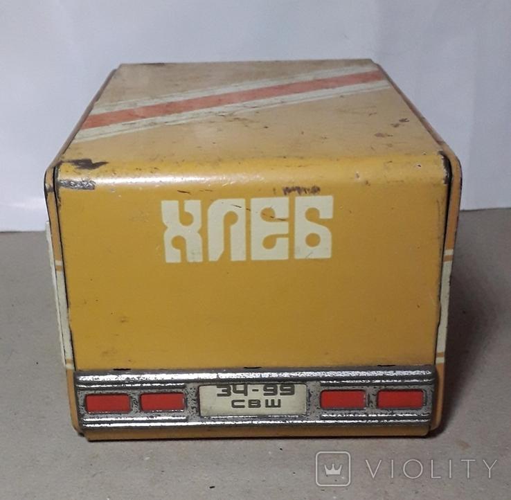 Бутка к машины ХЛЕБ из СССР размер 16Х11,3Х9 см., фото №3