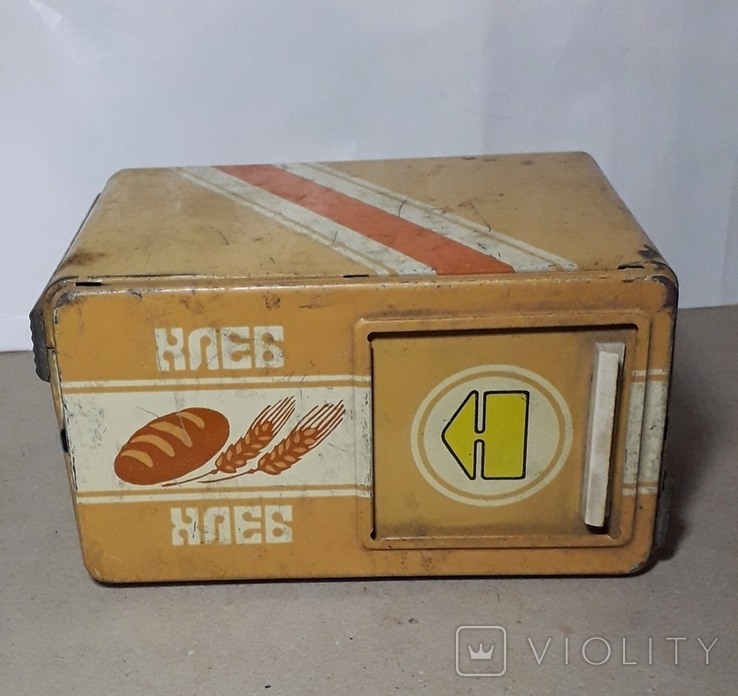 Бутка к машины ХЛЕБ из СССР размер 16Х11,3Х9 см., фото №4